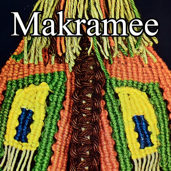 German Macrame Book Review (published 1975) Makramee