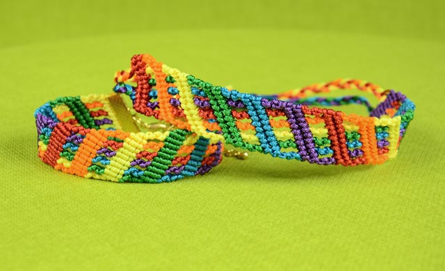 Colorful Rainbow Bracelet