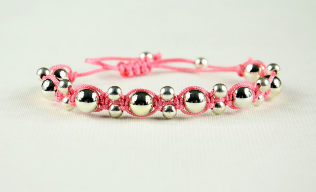 Alternating Shamballa Bracelet