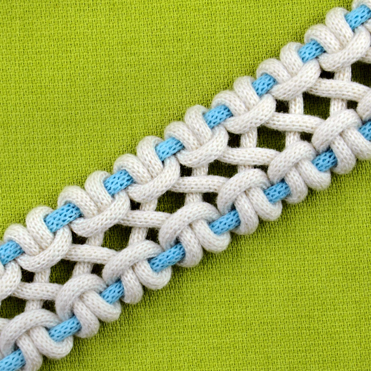 DIY crossed sennit 4 strands