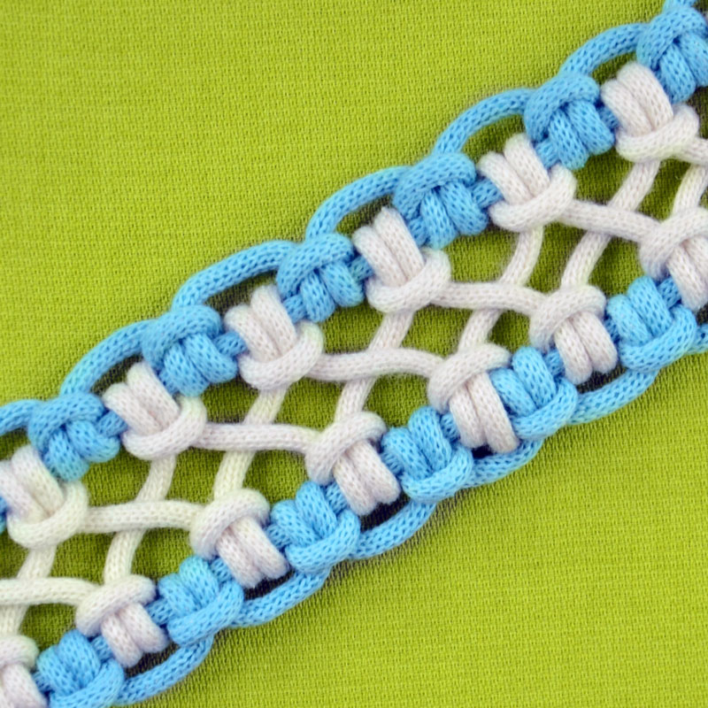 DIY crossed sennit 6 strands