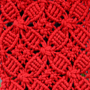 Macrame ABC/Pattern sample #13
