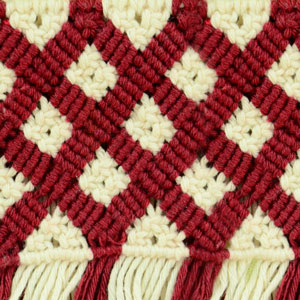 Macrame ABC/Pattern sample #19